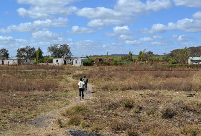 Poblado de Zambia