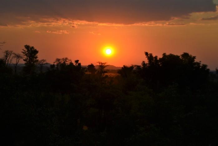 Atardecer en Liwonde Safari Camp