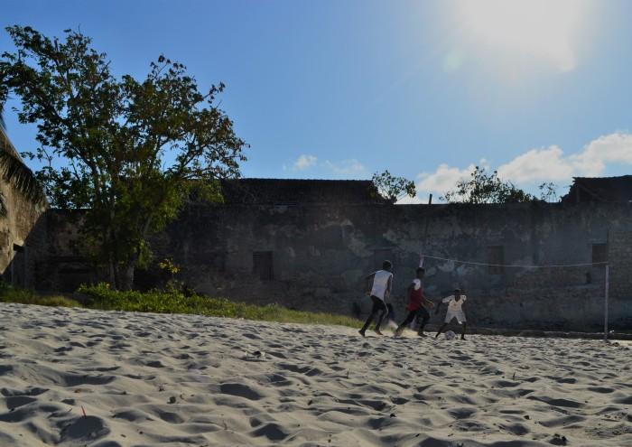 Fútbol playa Mozambique