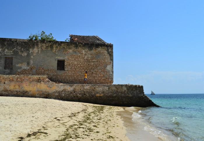 Playa de isla de Mozambique