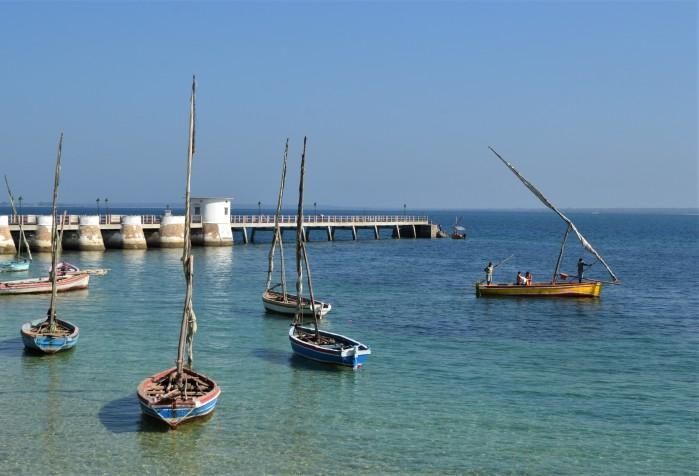 Puerto principal de la Isla