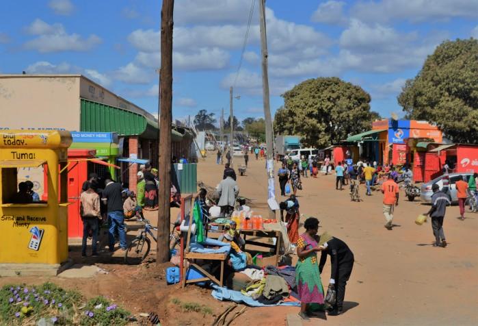 Mercado de Zambia