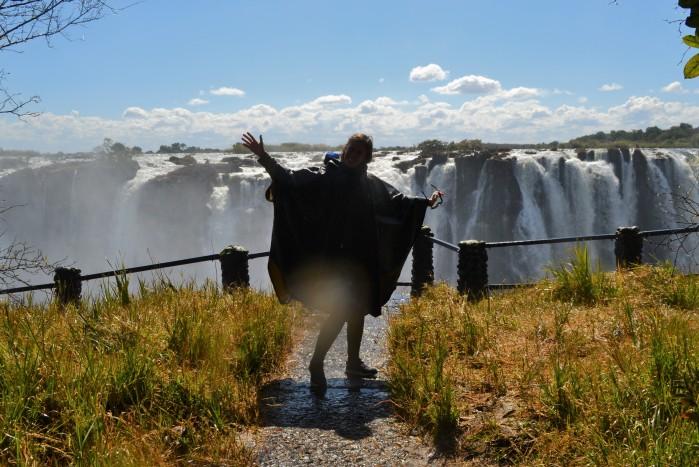 Mirador a las cataratas Victoria