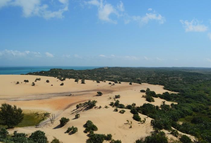 Paisaje increíble en Mozambique