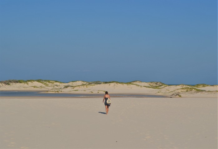 Playa desierta de Bazaruto