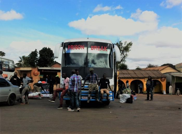 Transporte local africano