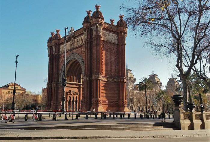 arco de triunfo barcelona