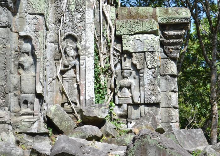 Estatuas hindúes Camboya