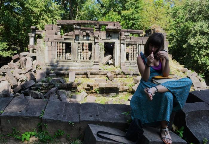 Llegar a Beng Mealea Camboya