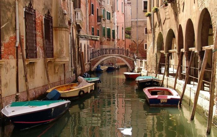 Venecia en barco