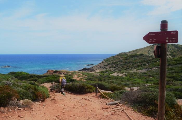 Caminata Cala Pilar