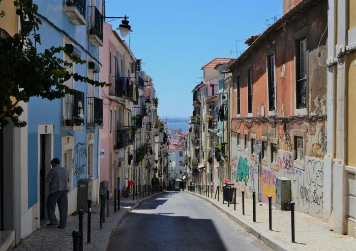 Barrio alto Lisboa