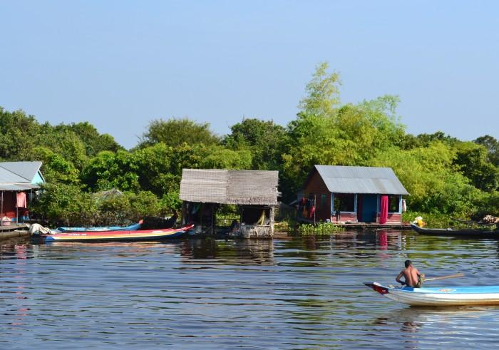 Siem Riap barco a Battambang