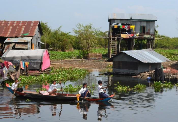 barco de Siem Riap a Battambang