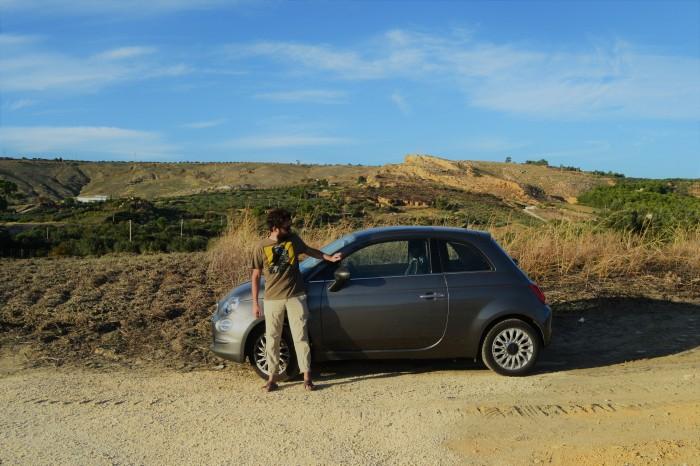 Conducir en Sicilia