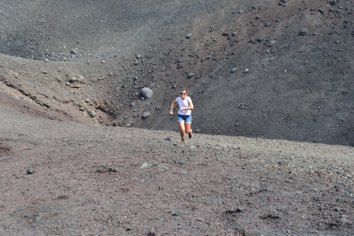 Crater Monte Etna
