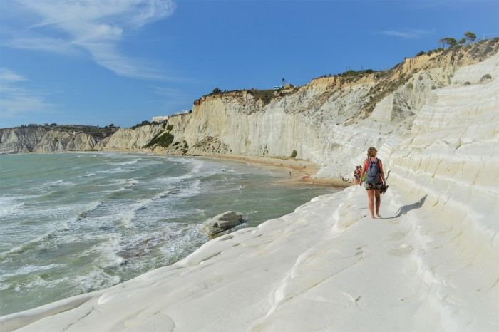Spiagga dei Turchi Sicilia
