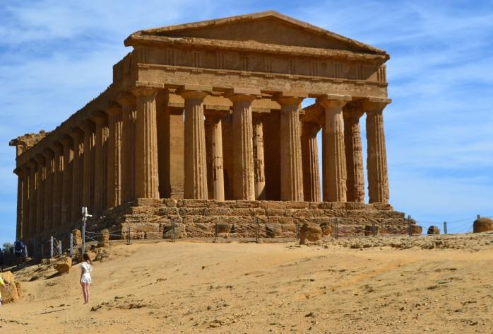 Concordia templo Agrigento