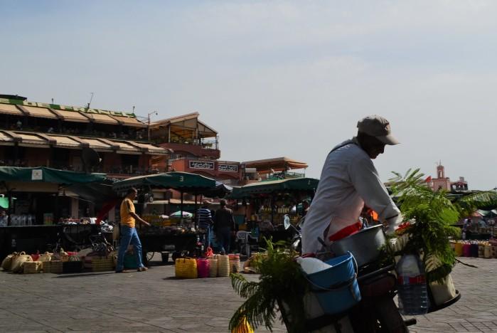Plaza Djemaa el Fna Marrakech