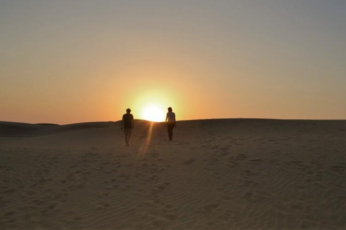 Desierto Thar India noche