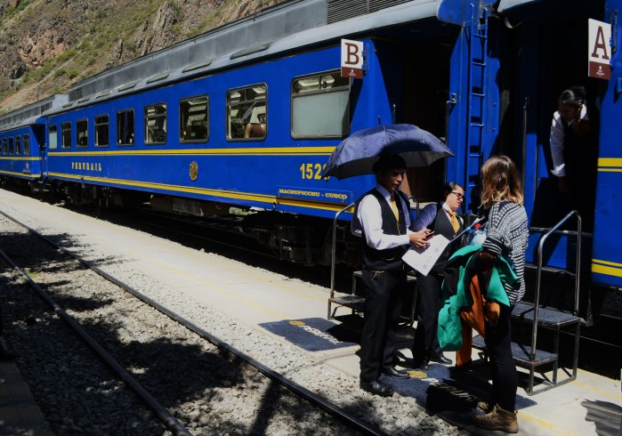 Tren por Perú viaje