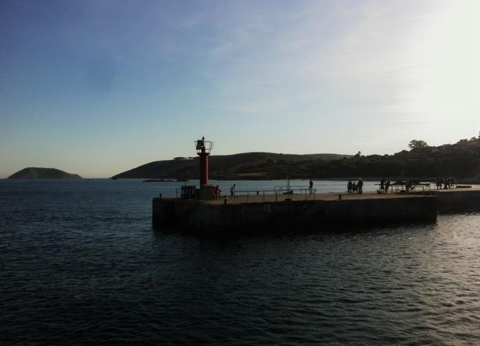 Isla de Ons puerto