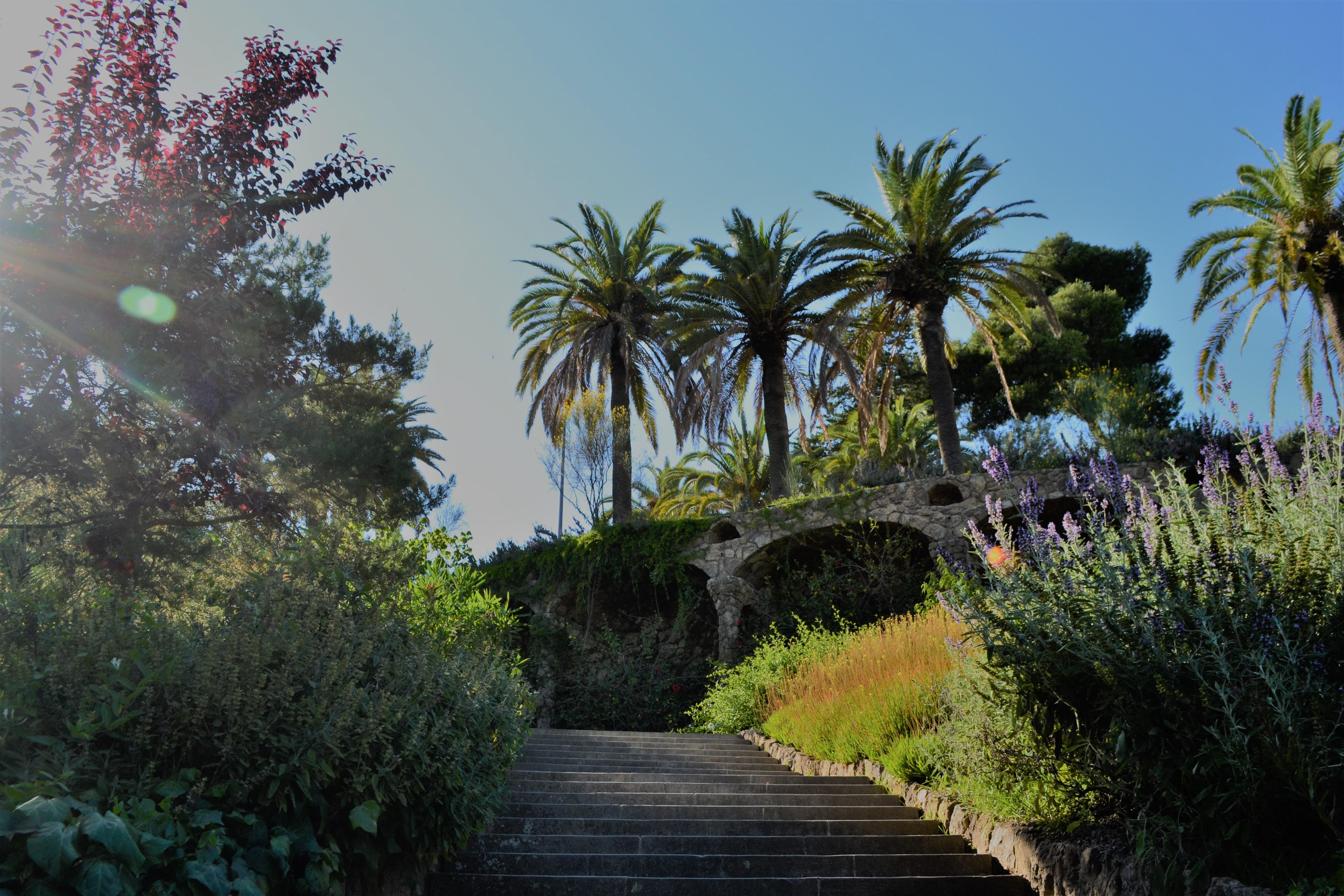 Jardines Güell Barcelona