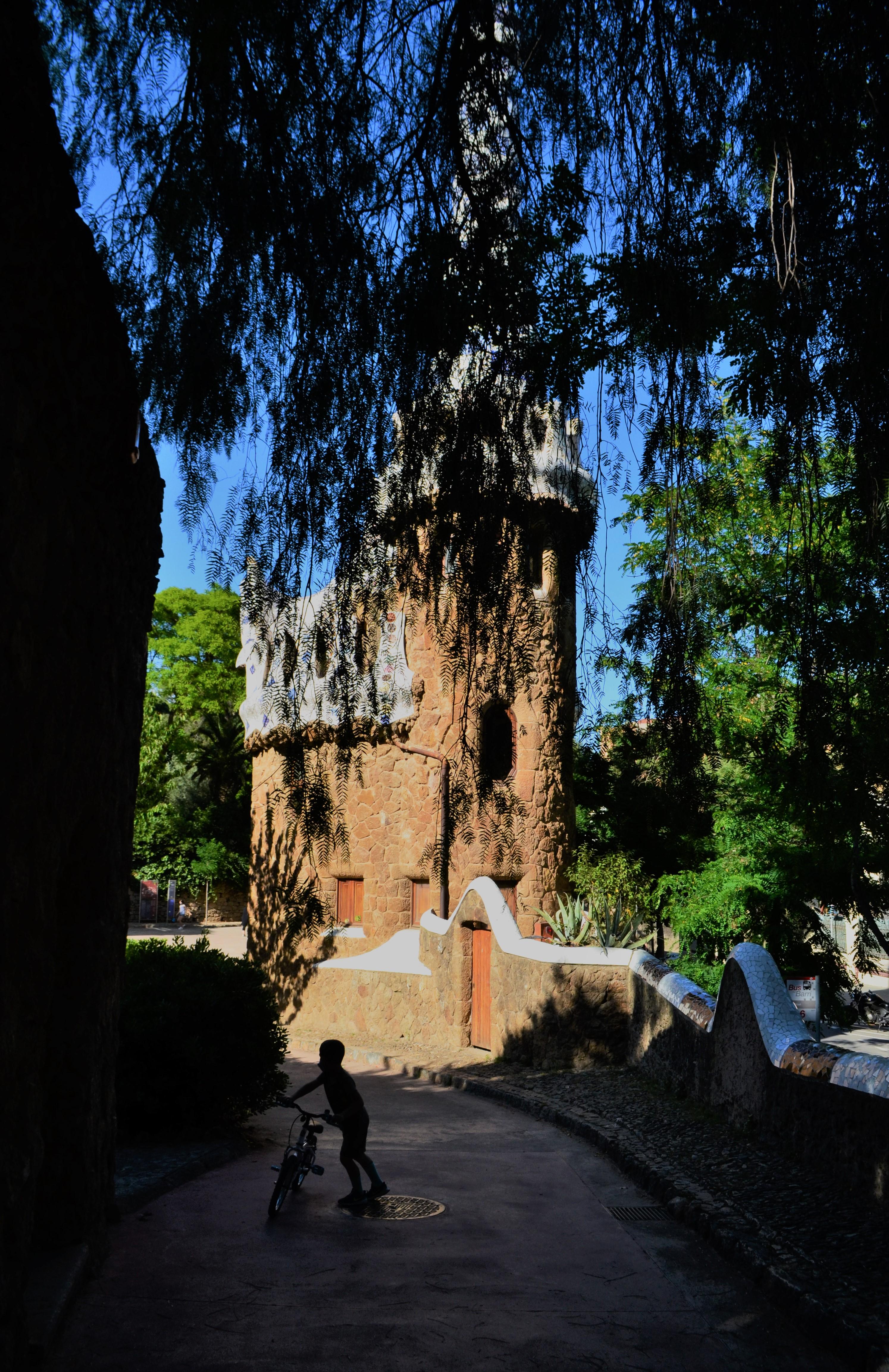 Parque Guell entrada