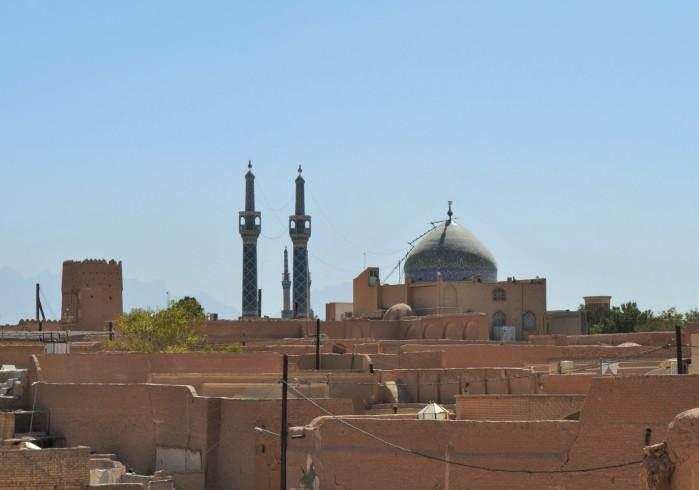 Yazd Irán viajar desierto