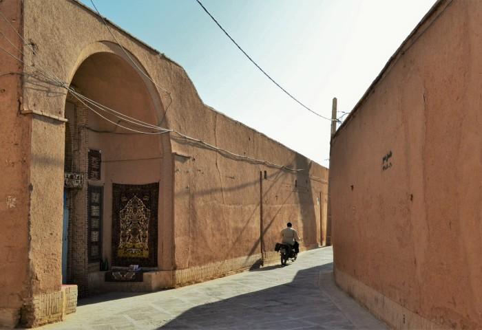 Yazd ciudad desierto Irán