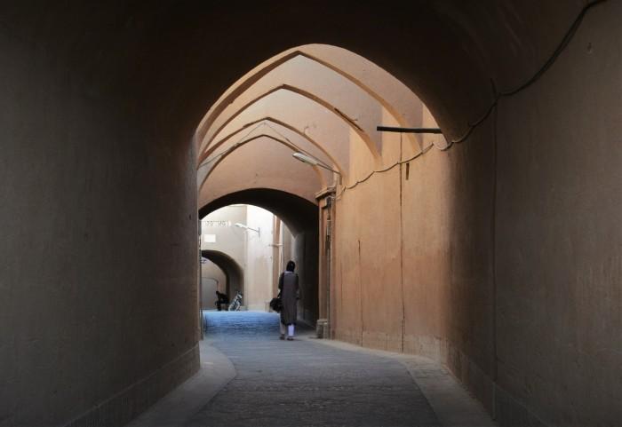 Yazd desierto Irán viajar