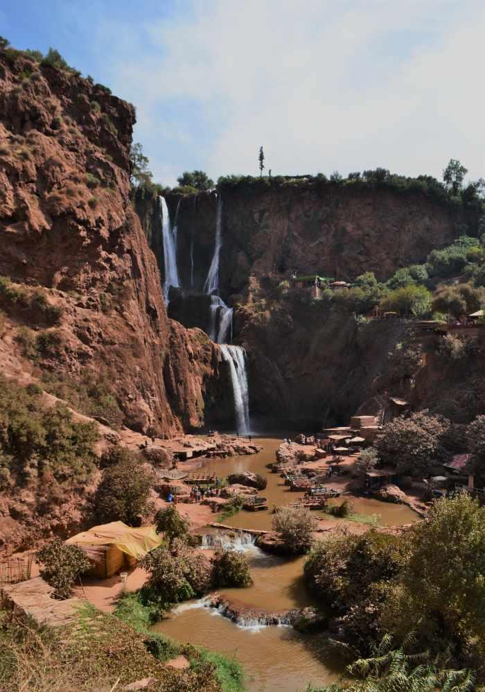 Ouzoud Marruecos viajar