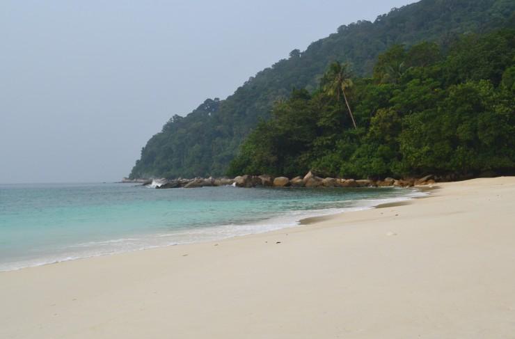 Perhentian islas turtle beach