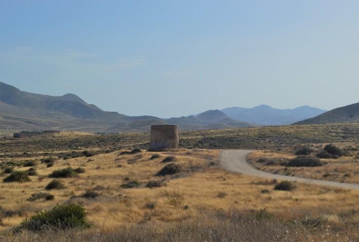 Cabo de Gata carretera