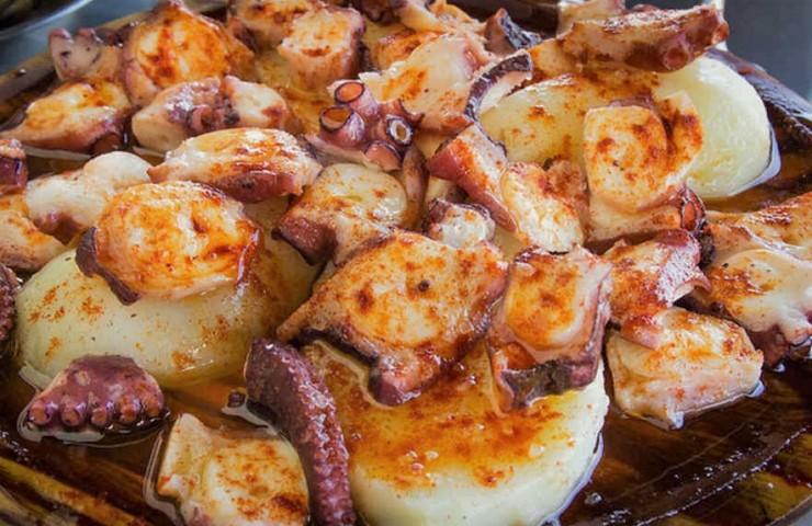 pulpo a feira Galicia