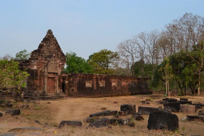 Wat Phou templo