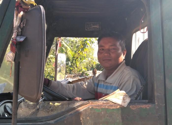 camión viajar